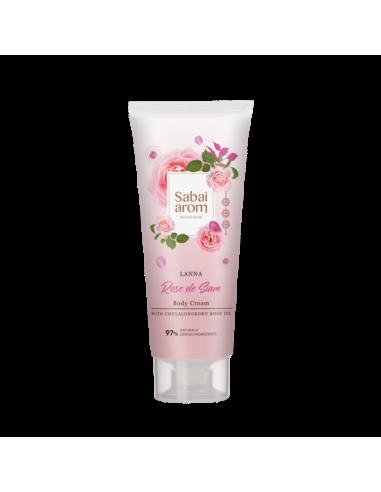 Sabai-arom Rose de Siam Body Cream 200g