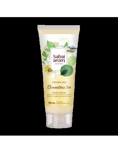Sabai-arom Osmanthus Tea Body Cream 200g