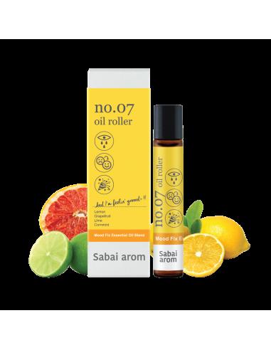 Sabai-arom NO.07 Cheer Up Spot Roller...