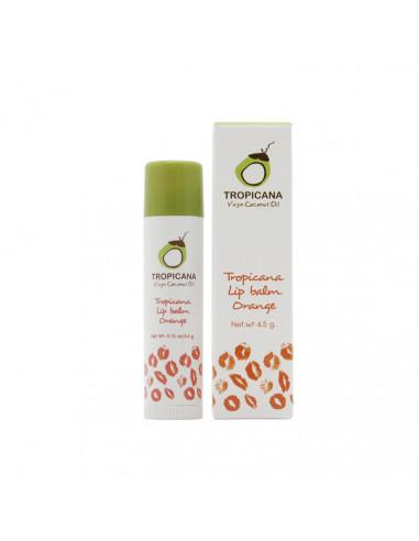 Tropicana Coconut Oil Treatment Lip Stick Orange 4.5g - 1